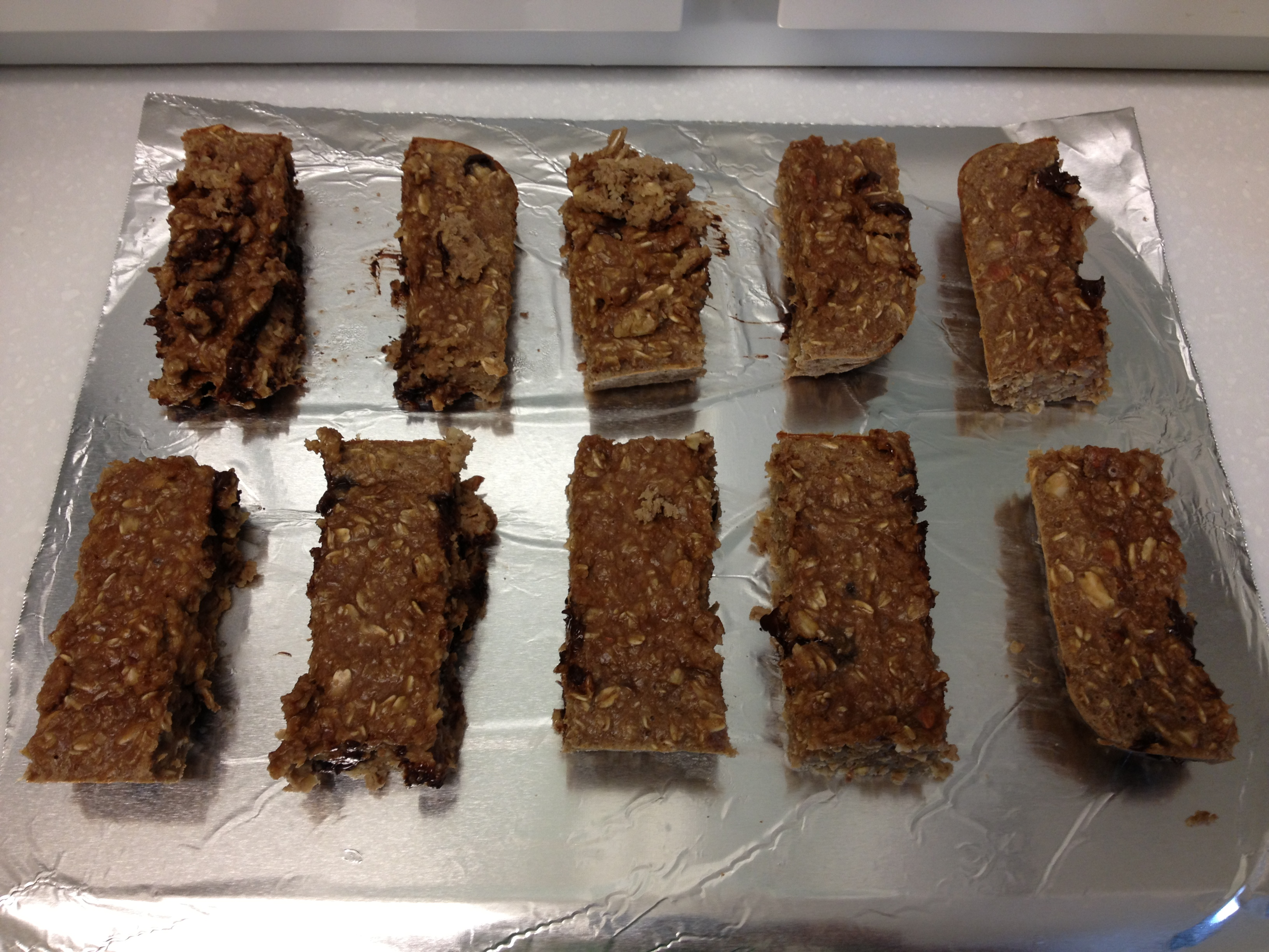 More On What I Eat And Homemade Protein Bars