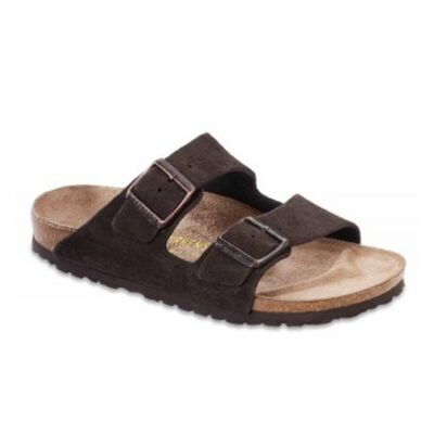 Arizona Mocha Suede Leather Narrow Width