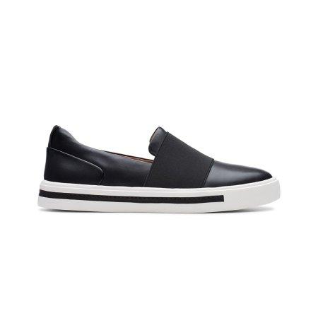 Un Maui Step Black Leather
