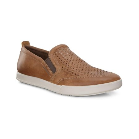 Collin 2.0 Perforated Slip On Cashmere 001