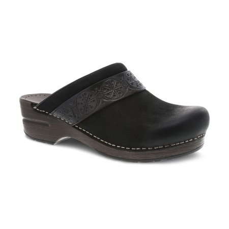 Saundra Black Burnished
