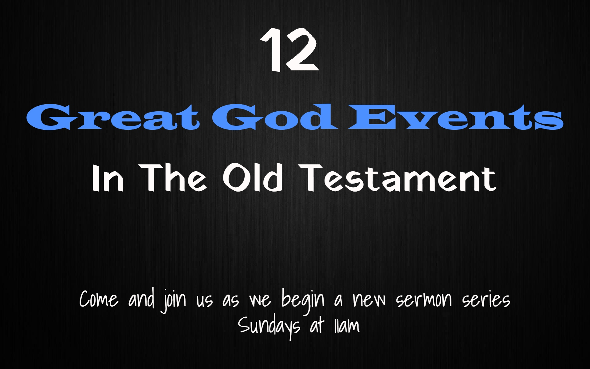 Great God Events