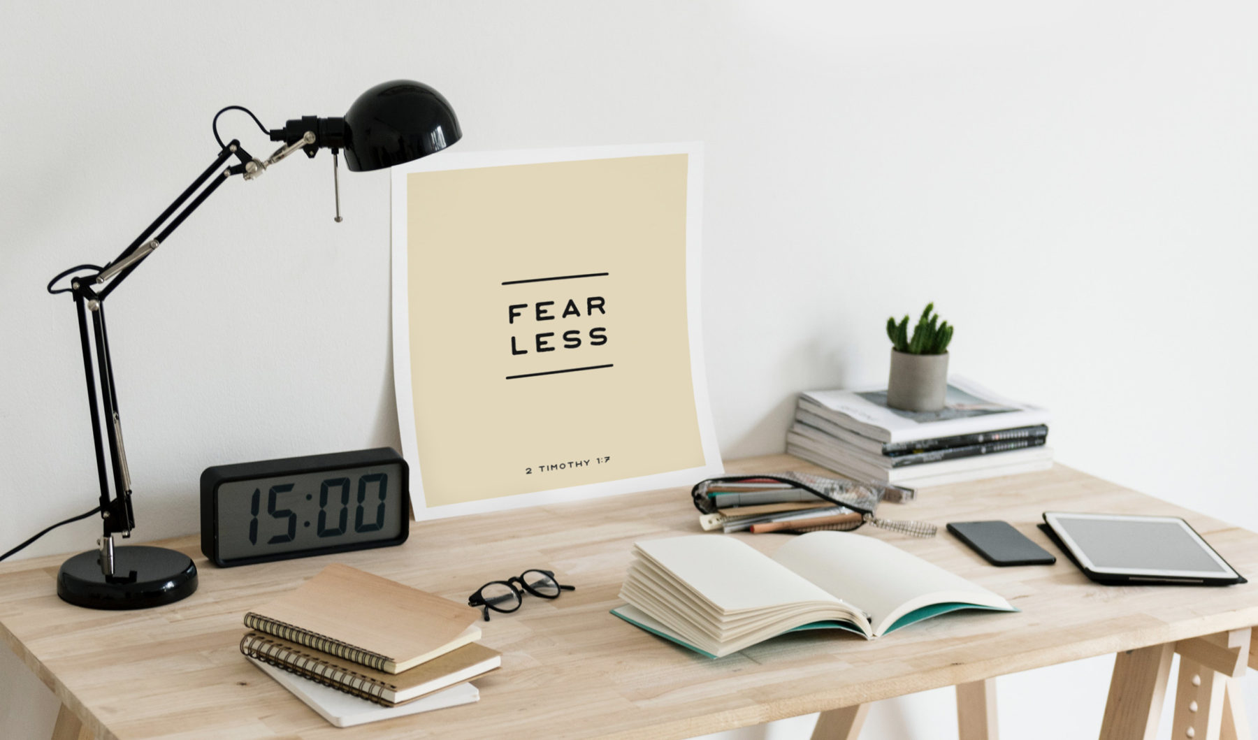 Live Fearless Poster and Backgrounds