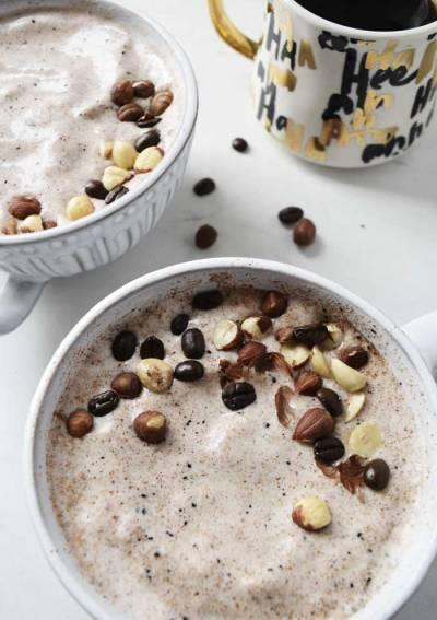 Hazelnut Espresso Smoothie Bowl
