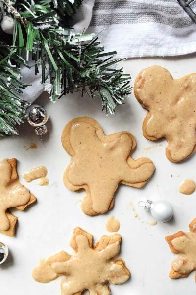Eggnog Glazed Sugar Cookies (Paleo & Nut Free)