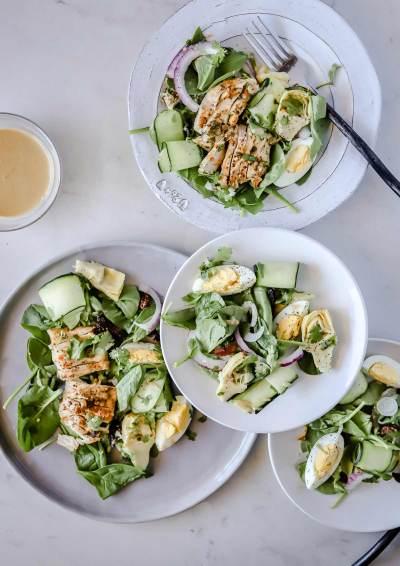 Paleo Mediterranean Cobb Salad