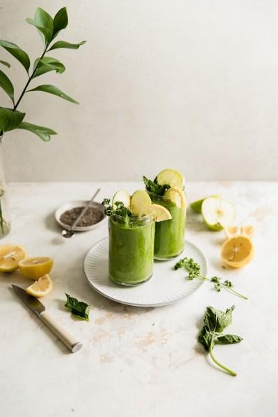 Super Greens Collagen Smoothie (Paleo)