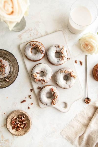 Grain-Free Pumpkin Donuts (With Collagen Protein)