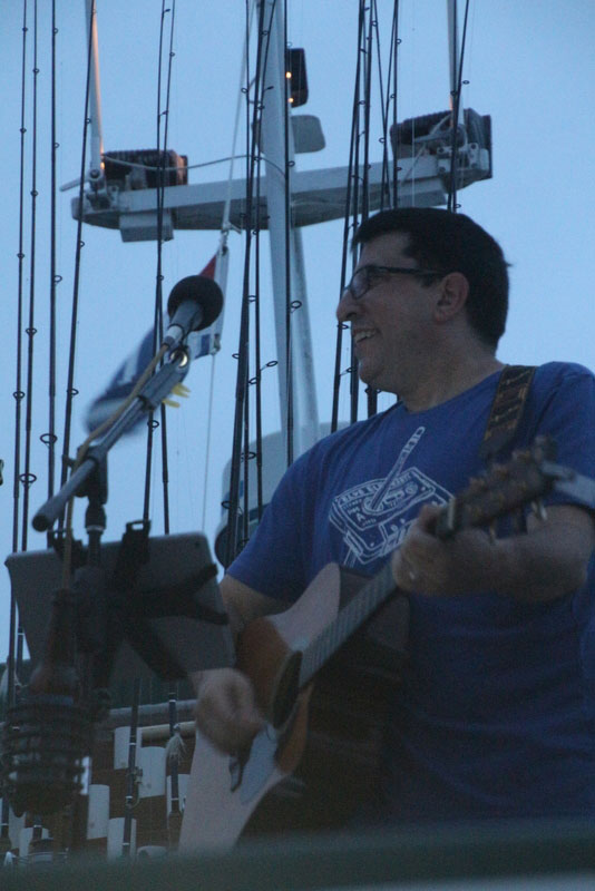 2018 Sunset Cruise - guitarist