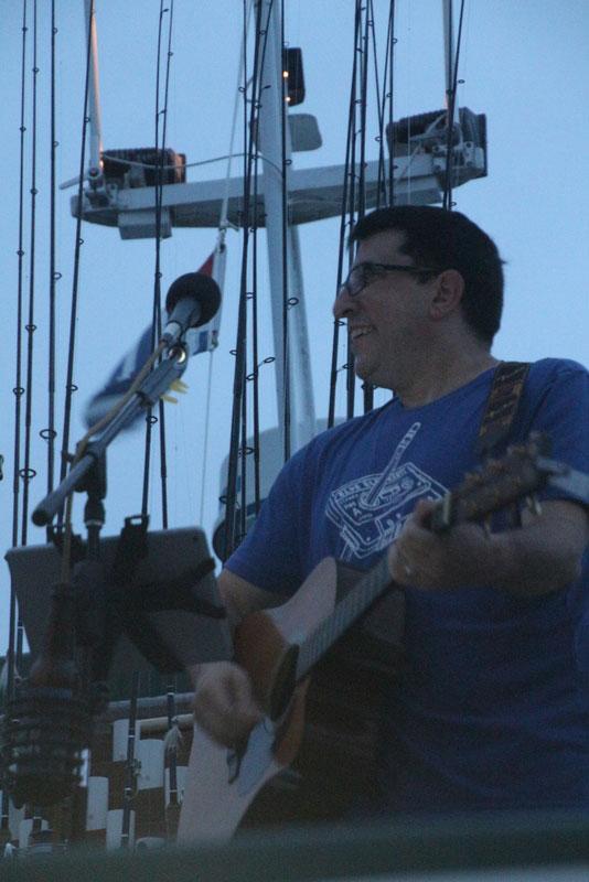 2018 Sunset Cruise - guitarist