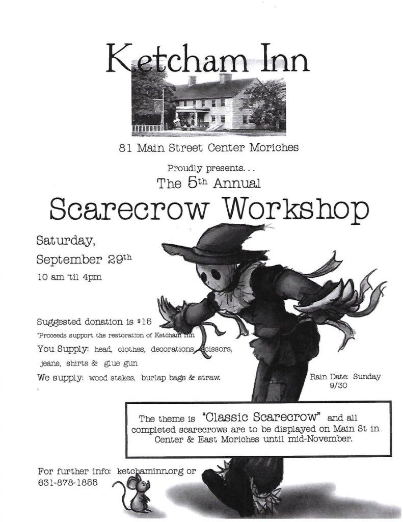 Ketcham Inn Scarecrow Workshop