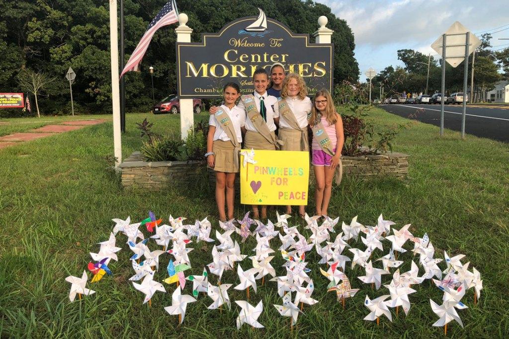 Girl Scout Troop 1556 - Pinwheels for Peace