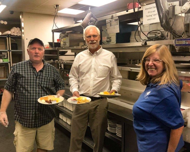 pancake breakfast volunteers