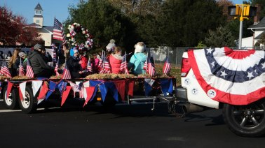 parade participants - 2018 East Moriches Veterans Day Parade
