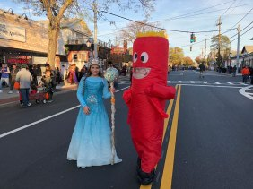 March of the Goblins, Halloween, Center Moriches: princess costume