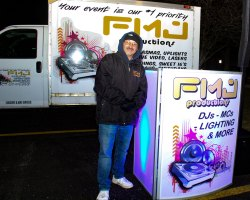 FMJ Productions at 2018 Moriches Chamber tree lighting