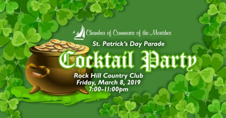 2019 St. Patrick's Day Parade Cocktail Party @ Rock Hill Country Club | Manorville | New York | United States