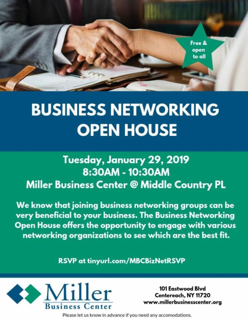 Business Networking Open House