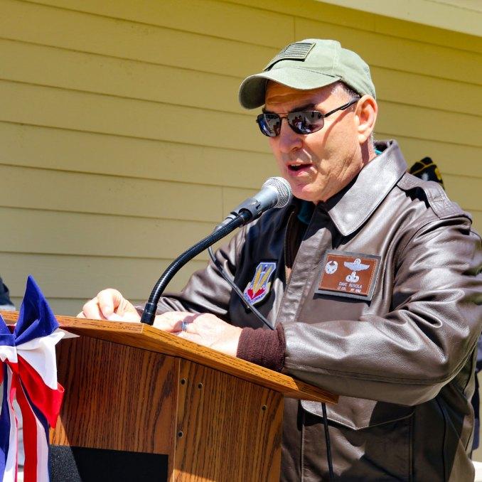Major Andy O'Keeffe tree memorial - 13