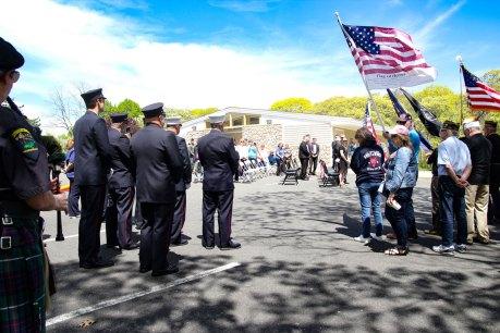 Major Andy O'Keeffe tree memorial - 15