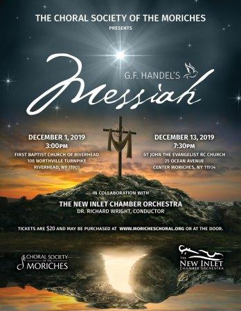 G.F. Handel's Messiah Concert @ St. John the Evangelist RC Church | Center Moriches | New York | United States