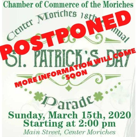 st. pat's parade postponed