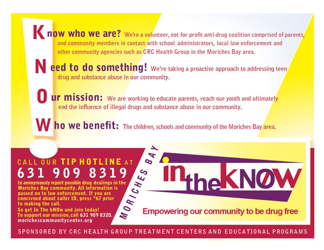 Moriches Bay in the kNOw | A not-for-profit 501(c)(3