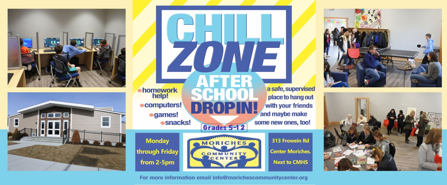 Chill Zone Flyer