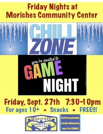 Game Night 9-27