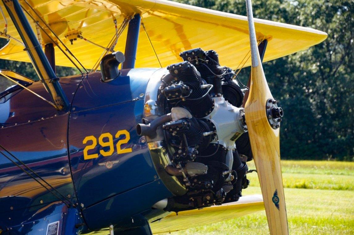 biplane propeller