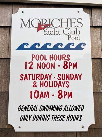 MYC pool rules