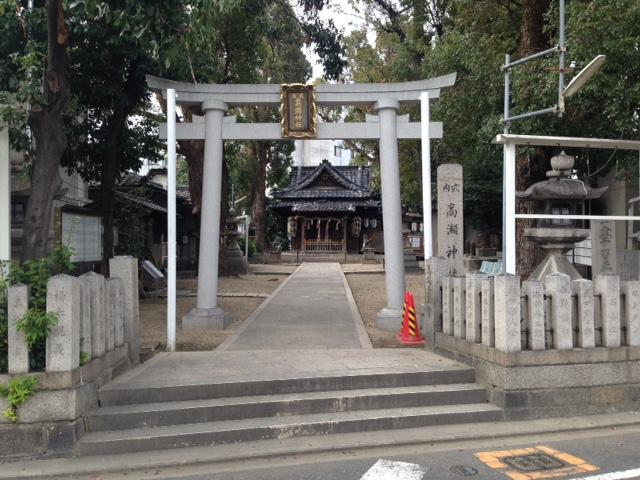 高瀬神社鳥居