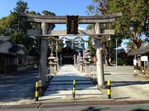 津嶋部神社鳥居