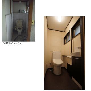 O様邸トイレ