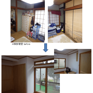 A様邸寝室
