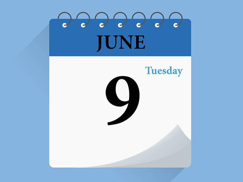 日曆-2020/06/09