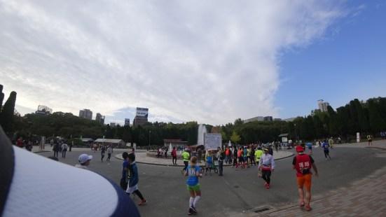 大阪マラソン 移動