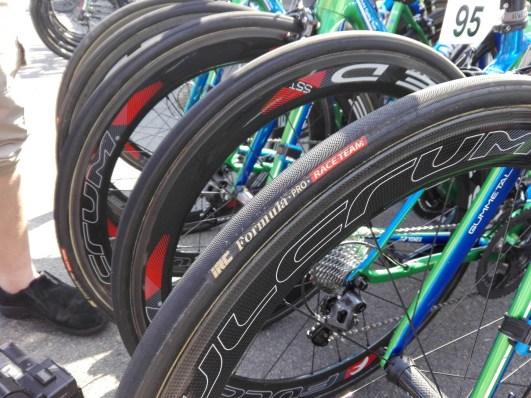 【プロバイク機材レポート】2017年ツアー・オブ・ジャパンVol.3 キナンサイクリングチーム ホイール タイヤ