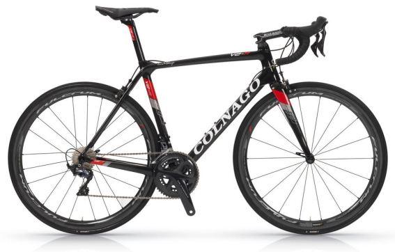 【2018年モデル】コルナゴ『V2-R』。空力、ディテールを改善し、更なる高みを目指した軽量エアロロードバイク。 ブラック/レッド