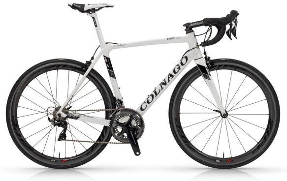 【2018年モデル】コルナゴ『V2-R』。空力、ディテールを改善し、更なる高みを目指した軽量エアロロードバイク。 ホワイト
