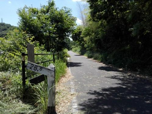 28.6‰ 片鉄ロマン街道ライド。サイクリング道で行く「見所」と「グルメ」。