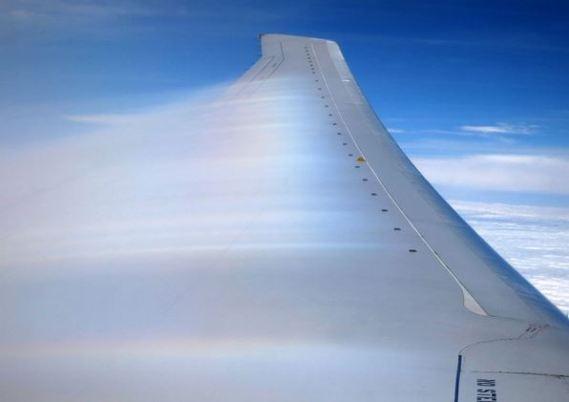 ボルテックスジェネレーター(渦流生成器) 飛行機