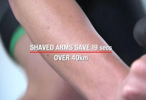 【速く走るためのエアロ効果・風洞実験①】身体各部の毛を無くすと? 腕の毛