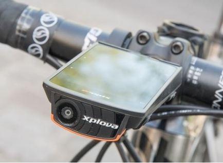 カメラ一体型の画期的サイコンXplova『X5 Evo』は実際どうか?