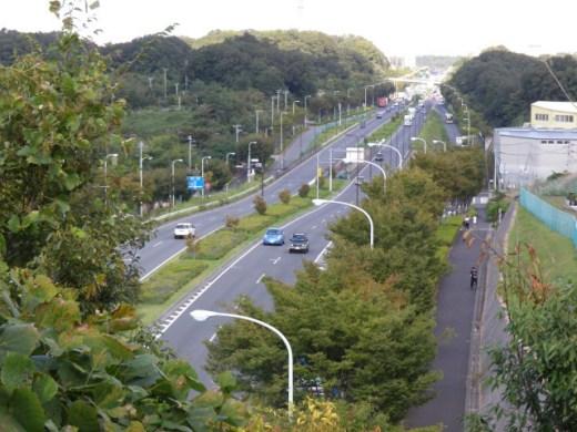 獲得4000m超!?東京オリンピック自転車ロードレースのコース案が発表される。 南多摩尾根幹線道路