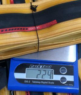 500本限定!Specializedの意欲作「Roval Cotton」タイヤ発売。 「Roval Cotton」と「Turbo Cotton」の違い 実測重量