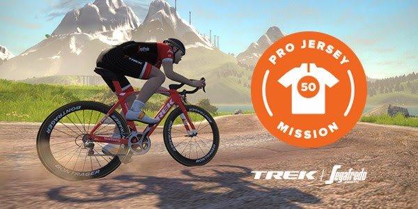 Trek-Segafredo Pro Jersey Mission zwift ズイフト