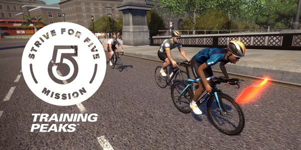 STRIVE FOR FIVE MISSION zwift ズイフト