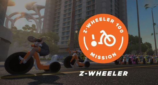 Z-Wheeler 100 Missio zwift ズイフト