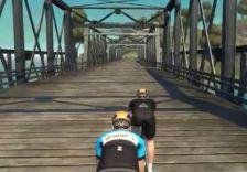 Tacx Neo 路面感触 石畳 砂利道 橋の木の板